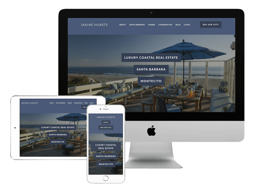 Real Estate Website Design California