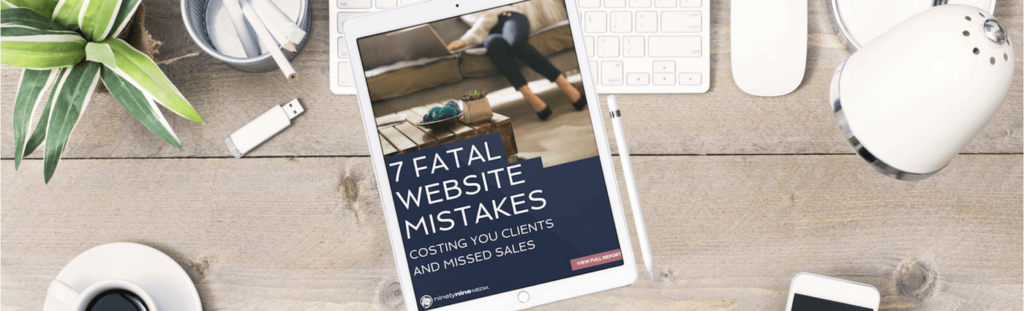Free Download Seven Fatal Website Mistakes Web Design